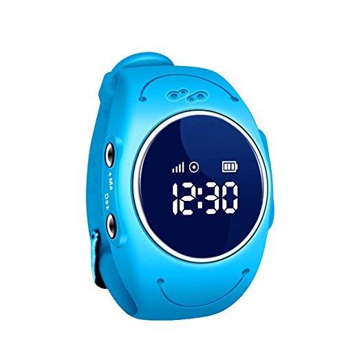 YQT Smart Watch, wasserdicht Schrittzähler Sicherheit Zaun SOS GPS Tracker SMART WATCH für Kinder (Zaun Smart)