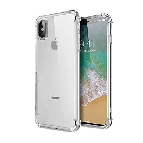 Cellbell Apple iPhone X Anti Shock Back Case