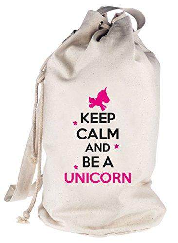 Mantenere La Calma Ed Essere Un Unicorno, Unicorno Stampato Borsa A Tracolla Borsa A Tracolla Borsa A Tracolla Natura