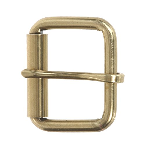1 beltiscool 12 roller 'Nickel free single tooth belt buckle for man Brass