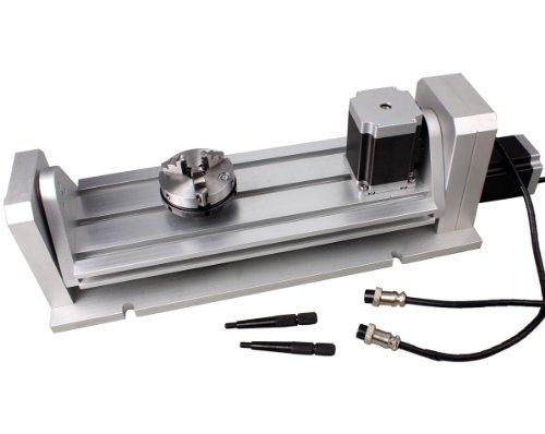 CNC Gravur Maschine H Rotary Tisch Kiefer um Chuck A/B 4. & 5. Achse