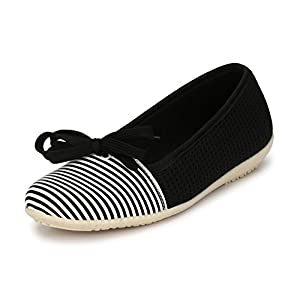 Alexa Mitchner Black & White Women Shoes