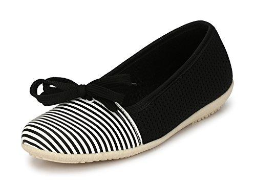 Alexa Mitchner Black & White Women Shoes