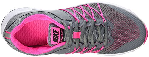 Nike  843882-002, Sneakers trail-running femme COOL GREY/BLACK-PINK BL