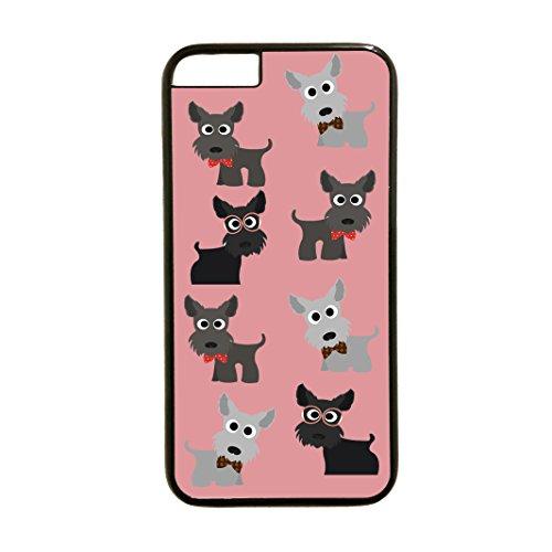 Case Fanatic Passt Einzigartige Wunderschöne Scotty Hund Telefon Fall iPhone 6Kostenlose P & P. (weiß Fall) -