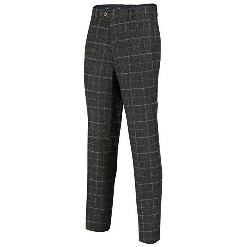 Xposed - Veste de costume - Homme * Taille Unique Trouser-Charcoal Grey