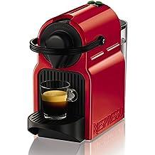 Nespresso Inissia XN1005 Macchina per Caffè Espresso, Ruby Red (Ricondizionato Certificato)