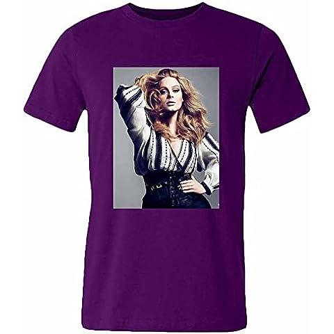 Men's Adele poster short-sleeved cotton t-shirt
