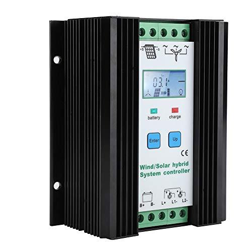 Características:  Control digital inteligente, adopta chip de alto rendimiento, es estable y altamente eficiente. Adopta el circuito de refuerzo para  para resolver la eficiencia de carga del generador eólico vertical de baja potencia. Función de c...