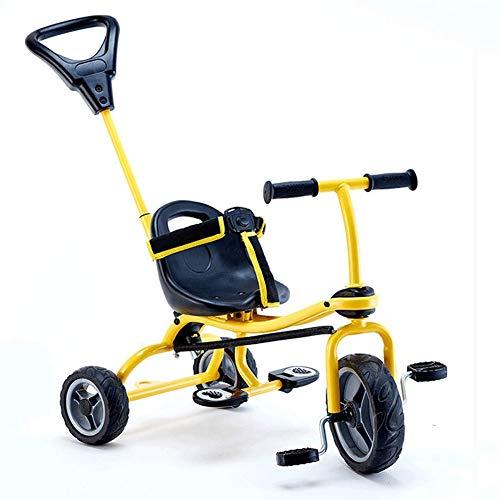 Tre-In-1 3-Ruote Carrelli Per Bambini Biciclette Triciclo 1-3 Anni Di Grande Capacità Di Stoccaggio,Brass