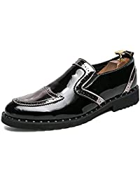 JIALUN Shoes Herren Bequeme Business Oxford Casual Fashion