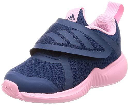 adidas Unisex Baby Fortarun X CF I Gymnastikschuhe, Blau Legend Marine/True Pink/FTWR White, 21 EU