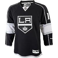 Reebok Anze Kopitar Youth Kinder Los Angeles Kings NHL Black Replica Jersey Trikot