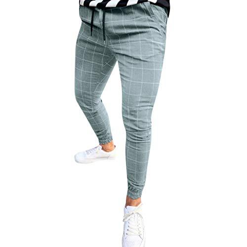 R-Cors✮ Herren | Jogginghose | Trainingshose | Sport Fitness | Gym | Training | Slim Fit | Sweatpants Streifen | Jogging-Hose | Stripe Pants -