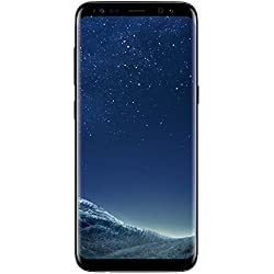 Samsung Galaxy S8 Smartphone (5,8 Zoll (14,7 cm) Touch-Display, 64GB interner Speicher, Android OS) midnight black Samsung Galaxy S8