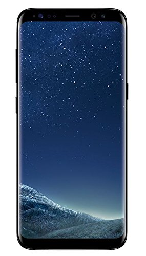 Samsung Galaxy S8 Smartphone (5,8 Zoll (14,7 cm) Touch-Display, 64GB interner Speicher, Android OS) midnight black (Mobile Speicher)