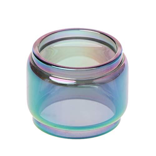 Angelliu Atomizer E Zigarette Glasröhrenersatz Transparentes Rainbow Vape Glas Atomizer Tank Für Vape Pen 22 Vaporizer Atomizer