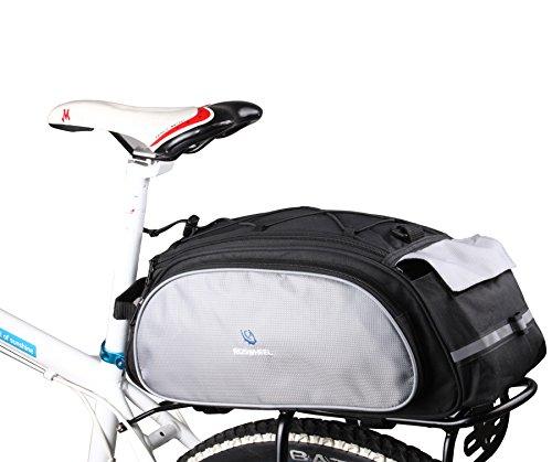 DCCN Alforja para bicicleta trasera bicicleta...