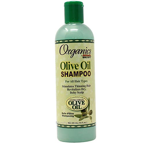 Africa S Best Shampooing Organics Huile d'Olive 355 ml