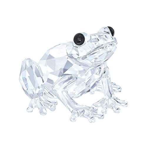 Swarovski rana figura, cristallo, trasparente, 2.5x 3.6x 3.7cm