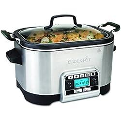 Crock-Pot CSC024X - Olla de cocción lenta y Multi-cooker, 5.6 l, varias funciones pre-programadas