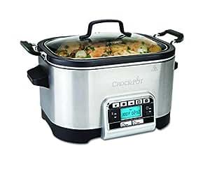 Crock-Pot Multi-Cooker, 5.6 L - Silver