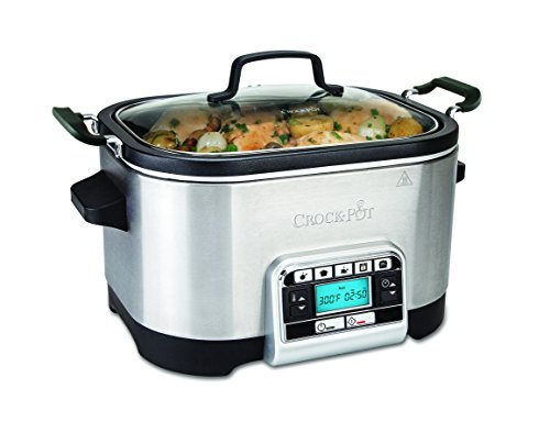 Crock-Pot CSC024X Digitaler Schongarer & Multikocher 5,6 l