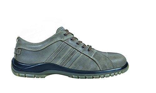 Exena 1101048013461 - Hermes - scarpe di protezione del lavoro, dimensione 46, marrone Marrone