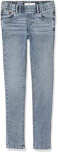 NAME IT Mädchen Hose NKFPOLLY DNMTONJA 1151 Legging, Blau (Light Blue Denim), (Herstellergröße:152) -