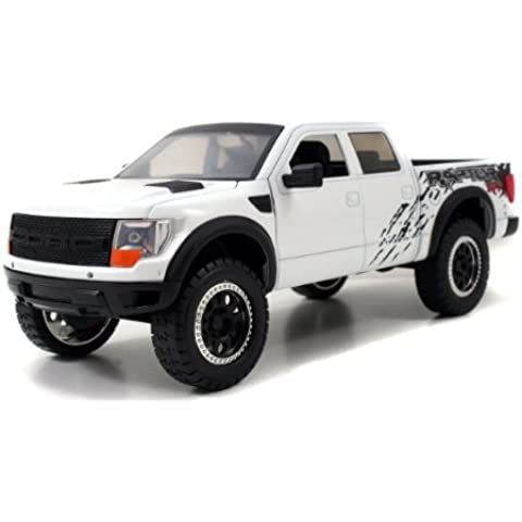 2011 Ford F-150 SVT Raptor 1:24 Scale (White) by Jada