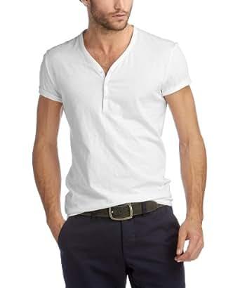 ESPRIT Collection Herren T-Shirt 063EO2K005, Gr. 37/38 (S), Weiß (100 white)