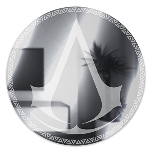 Assassin's Creed Spiegel, Plastik, Multi, 1 x 35 x 35 cm