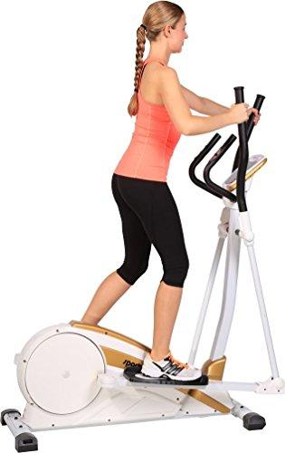 SportPlus Crosstrainer Ergometer, Benutzergewicht bis 130 kg, Klasse H.A., SP-ET-9700-E - 6