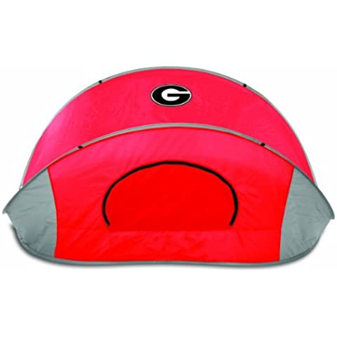 NCAA Georgia Bulldogs Manta Portable Pop-Up Sun/Wind Shelter by Picnic Time