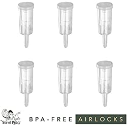 Airlocks para fermentación, juego de 6