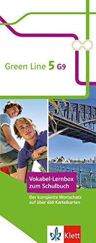 Klett Green Line 5 G9 Klasse 9 Vokabel-Lernbox zum Schulbuch: Englisch passend zum Lehrwerk üben