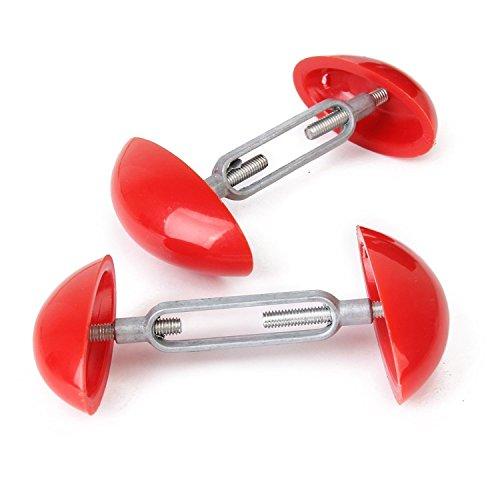 TOOGOO 2 Pieces Tendeur de chaussure reglable mini - rouge