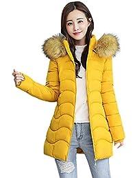 Frauen Hooded Long Coat Jacke Hoodies Parka Outwear Strickjacke Mantel L143 a0bcd9ec5c