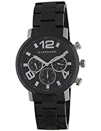 (Renewed) Giordano Analog Black Dial Men's Watch-1874-11