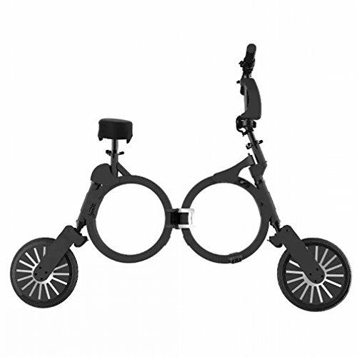 Coche Plegable Ultraligero Mini-Portátil Dos Rondas de Scooter Eléctrico para Adultos Scooter...