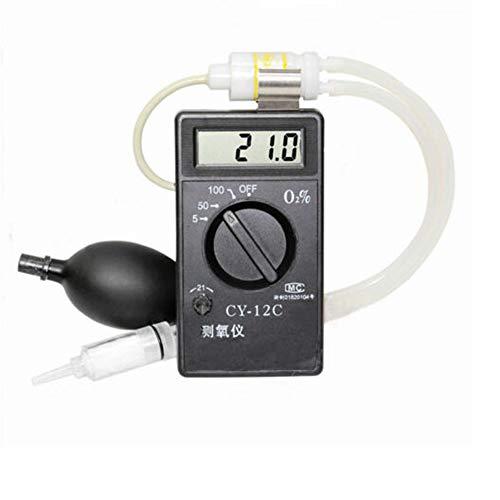 CY-12C - Tester di concentrazione di ossigeno, rilevatore di ossigeno