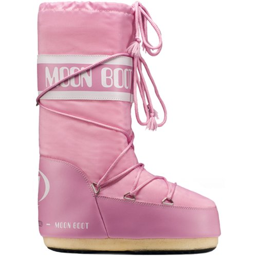 Moon Boot by Tecnica Nylon, Bottes d'hiver unisexe pink