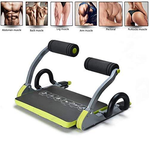 Sallypan Mini-Multifunktions-Bauchtrainer,Faltbares Körperübungssystem Home Gym Equipment Für Bauch Zurück Taille Arm