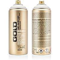 Montana Cans 285240 Spray Dose Gold, Gld400, 7000, 400 ml, Pebble