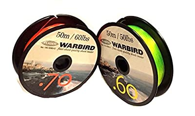 Mono Shock Leader Sea Fishing Line Ideal For Multiplier Reels / Beachcaster Rods from fladen