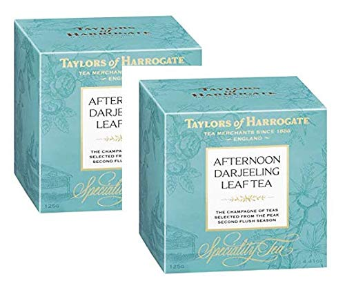 Taylors of Harrogate Adternoon Darjeeling Leaf Tea - 2 x 125 Gram
