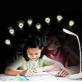 FUZILV DIY Nette Glühbirne Leuchtende Wandaufkleber Für Kinderzimmer Baby Kinder Schlafzimmer Aufkleber Wandbilder Wohnkultur Leuchten Im Dunkeln