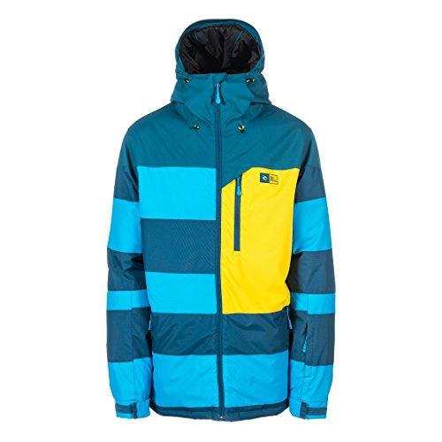 RIP CURL - Chaqueta de esquí para Hombre, Color Azul, Talla XS