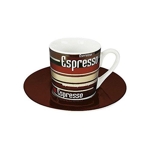 Könitz Espressoset Coffee Stripes