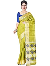 Slice Of Bengal Light Weight Broad Border Cotton Taant Tangail Saree101001001191